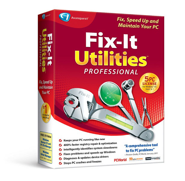 Fix-It Utilities 15 Pro