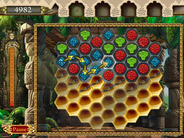 300 levels of unique Match-3 game!