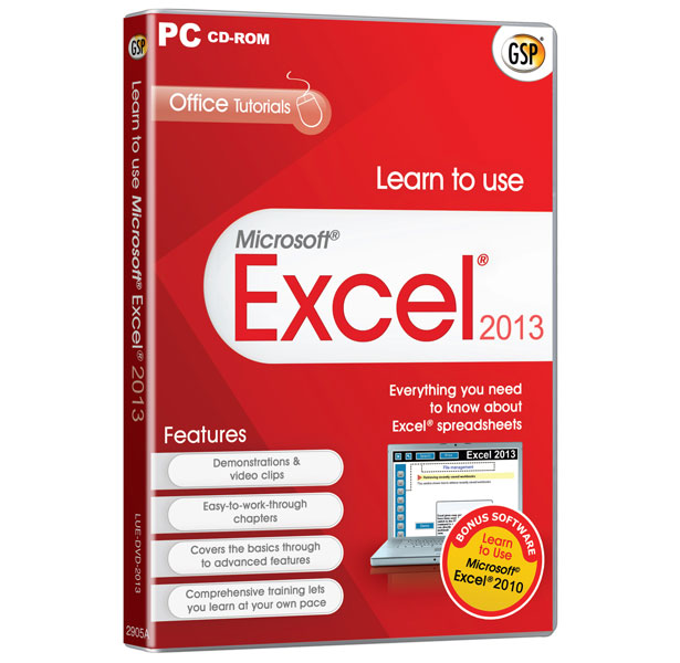 Learn to use Microsoft® Excel® 2013