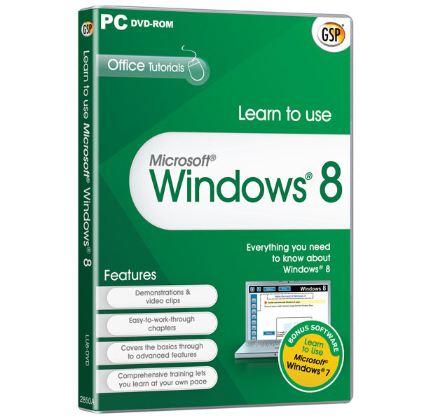 Learn to use Microsoft® Windows® 8