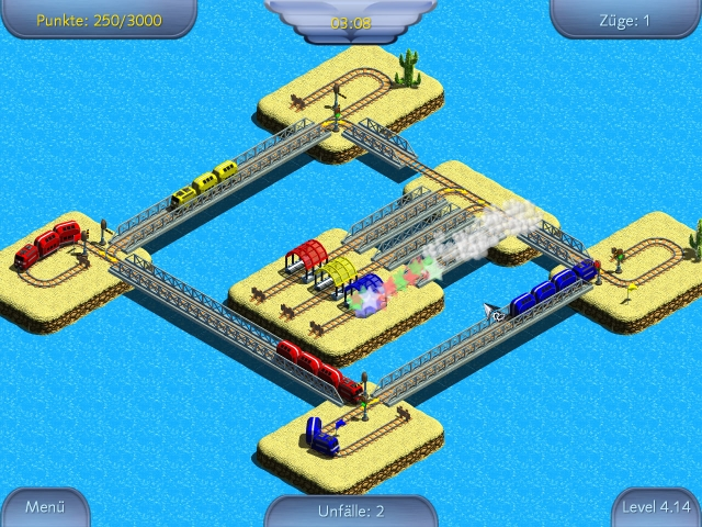 Develop your own Rail Network and become the next Big Rail Tycoon.