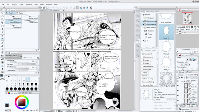 Making Comic With Clip Studio Paint Pro