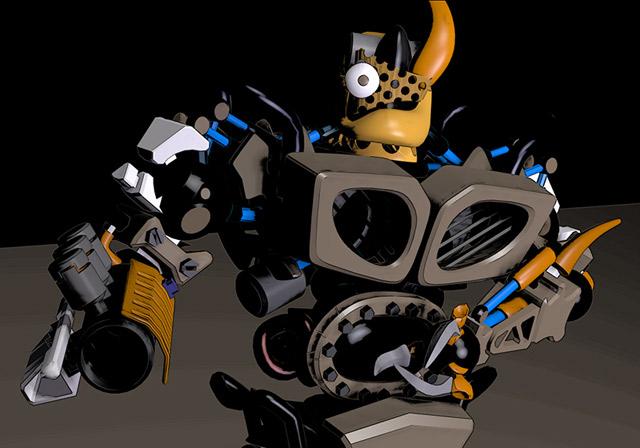 Créez de lart numérique 3D et des animations avec des personnages en 3D !