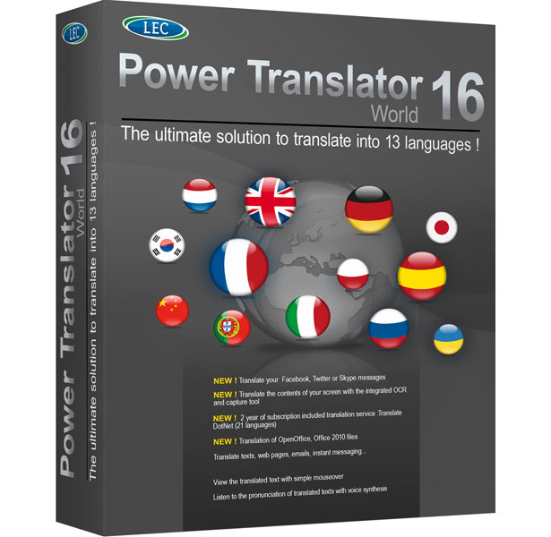 Power Translator 16 World