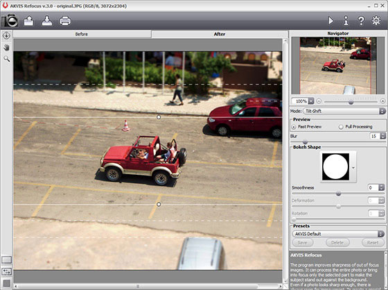 The ultimate tool for making blurred photos sharp and clear
