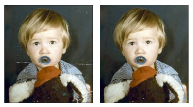Restore your damaged photos to their former glory with Retoucher 7 Deluxe Image Restoration Software!