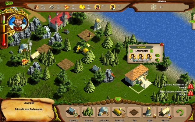 Restore your Kingdom to its past glory in this exciting real-time strategy.