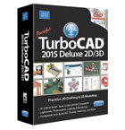 TurboCAD Deluxe 2015 Upgrade