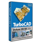 TurboCAD Deluxe 2016 Upgrade