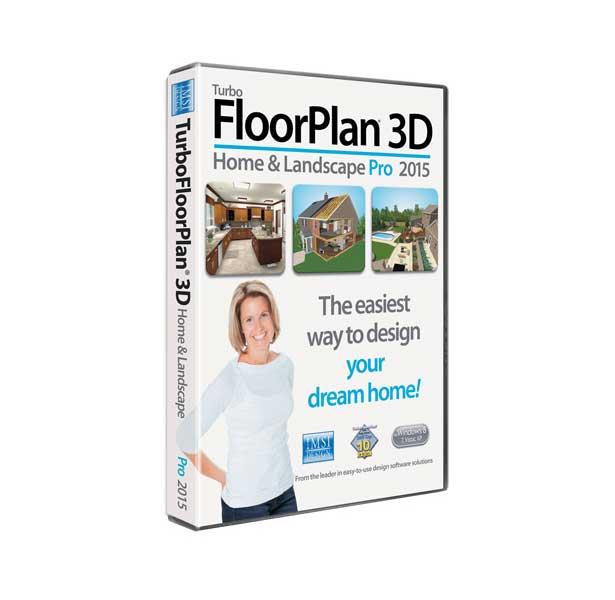 TurboFloorPlan 3D Home & Landscape Pro 2015