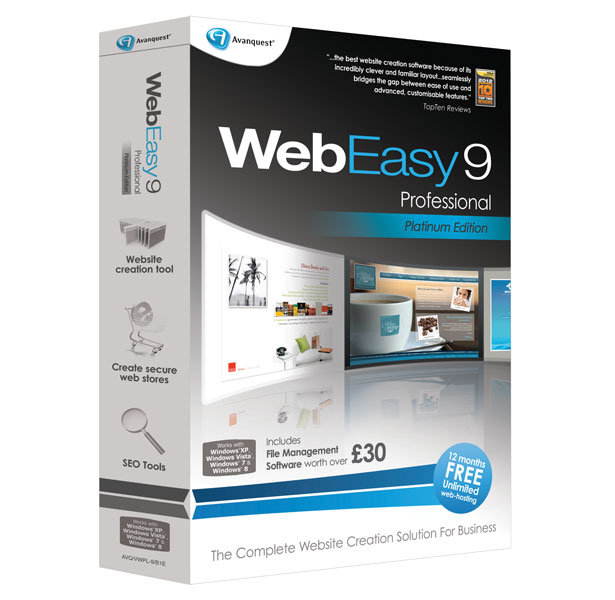 professional web design software
