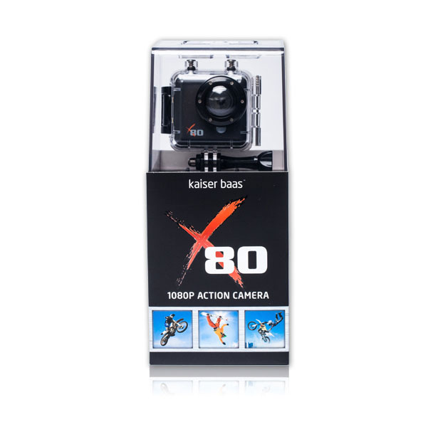 X80 Action Camera