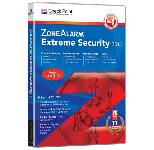 ZoneAlarm Extreme 2015