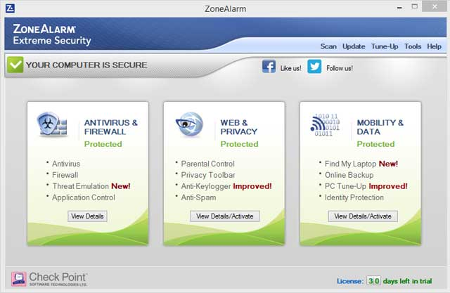 The Most Comprehensive Suite on the Market. Protects Your PC, Your Browser and Your Data!