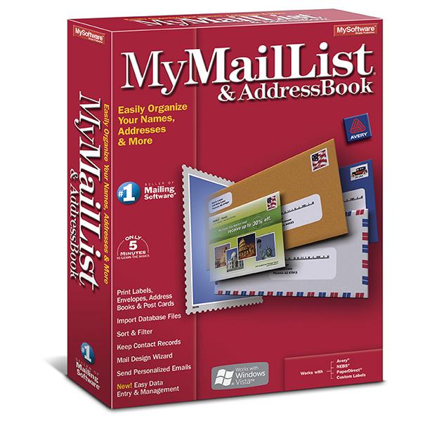 MyMailList & AddressBook 8