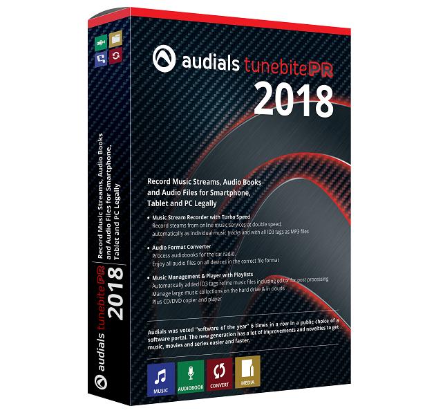 Audials Tunebite 2018.1.31600.0