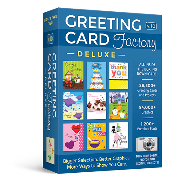 Greeting Card Factory Deluxe 9: Greeting Card Factory Deluxe 10