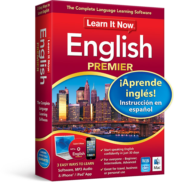 Learn It Now English Premier