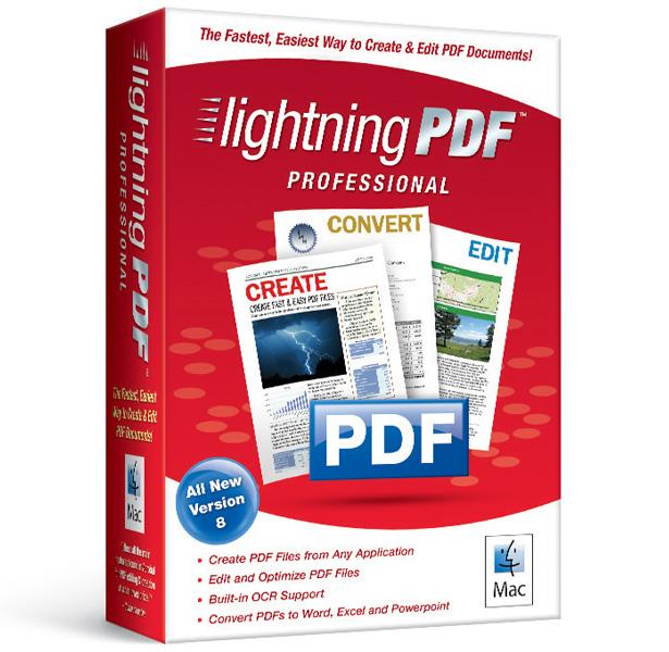 Lightning PDF Professional 8 for Mac