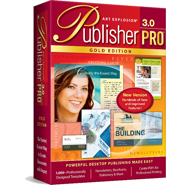 Art Explosion Publisher Pro Gold 3.0